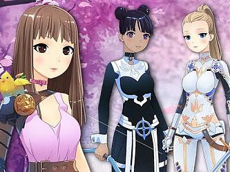 Anime Fantasy Dress Up