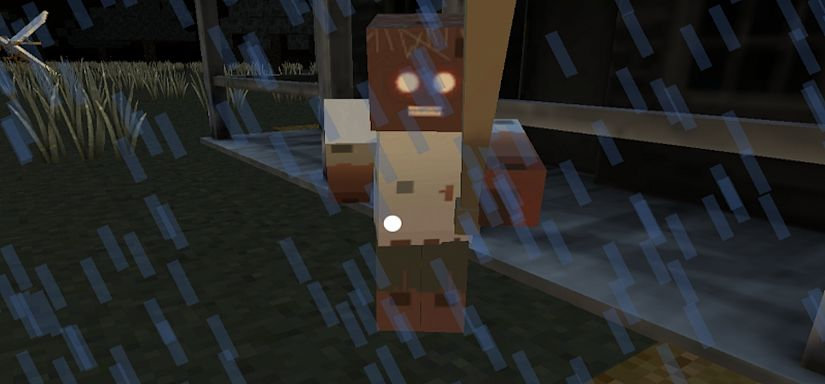 Block Granny Scary Horror