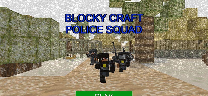 Blocky Craft Police Squad Speel Blocky Craft Police Squad Op