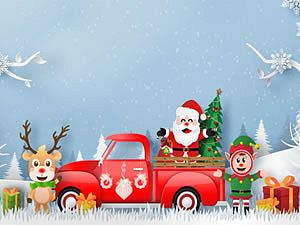 Christmas Trucks Differences