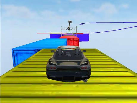 Extreme Ramp Car Stunts