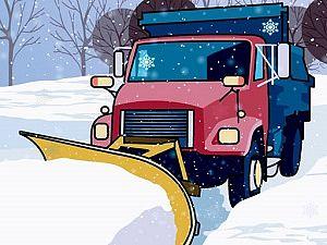 Hidden Snowflakes in Plow Trucks