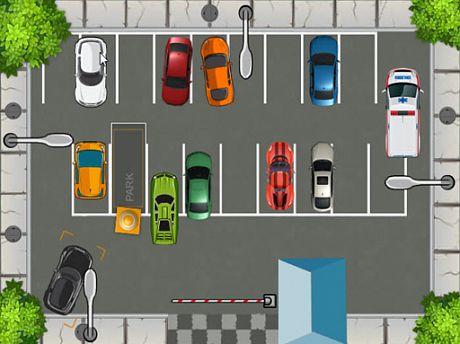 HTML5 Parking Car