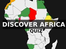 Location of African countries | Quiz