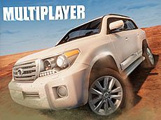 Multiplayer 4x4 offroad drive