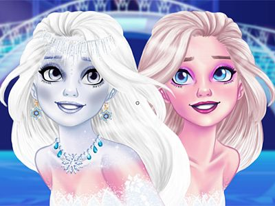New Makeup Snow Queen Eliza