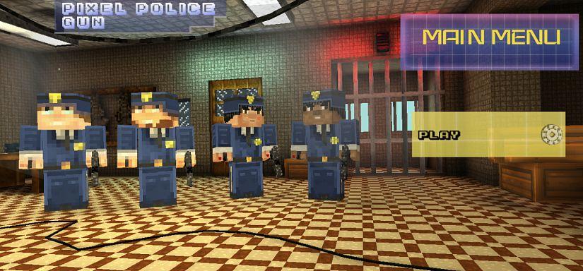 Pixel Police Gun | GameArter com