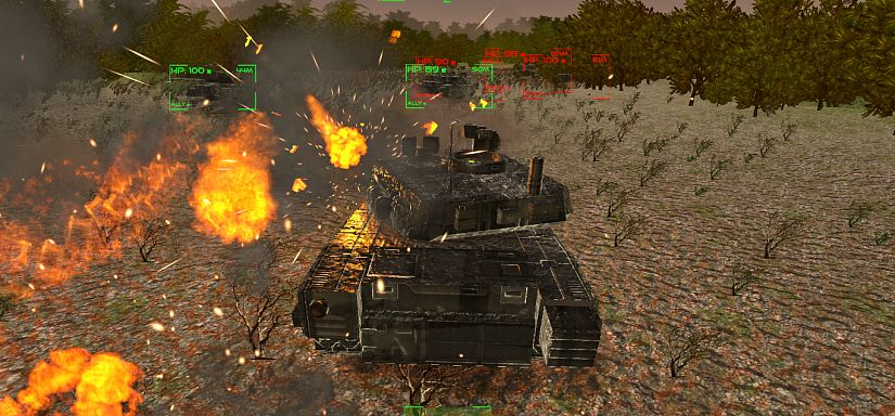 Tanks Battle Ahead | Play the Game for Free on PacoGames