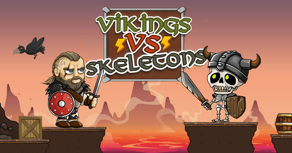 Vikings vs Skeletons