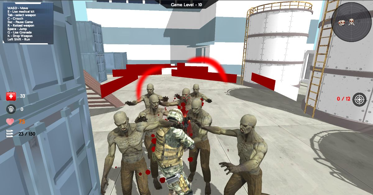 Image Zombies attack