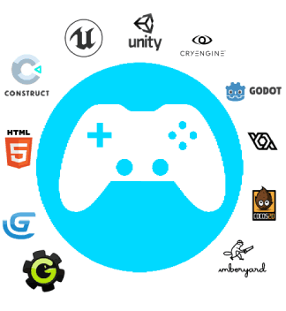 Supported game engines