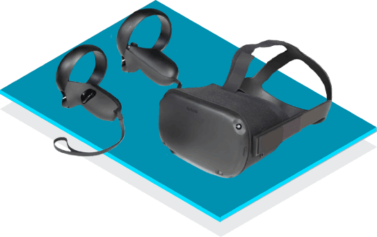 Oculust Quest VR headset